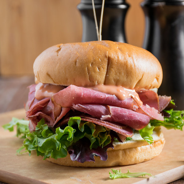 Knauss Foods 6 Ib. Classic Dried Beef Deli Knuckle