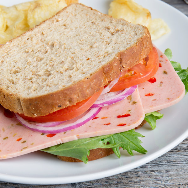 Freda Deli Meats 5 lb. Olive Loaf Main Image 3