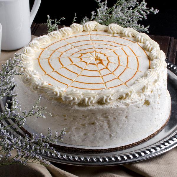 """Pellman 9"""" Pumpkin Spice Cake - 4/Case Main Image 1"""