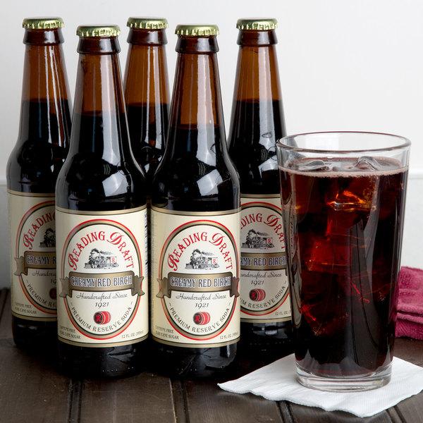 Reading Soda Works 12 oz. Creamy Red Birch - 12/Case
