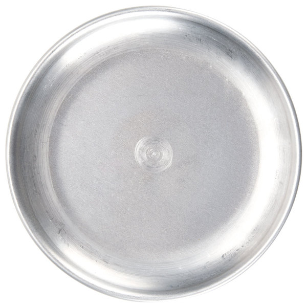 """American Metalcraft CTP13 13"""" Standard Weight Aluminum Coupe Pizza Pan"""