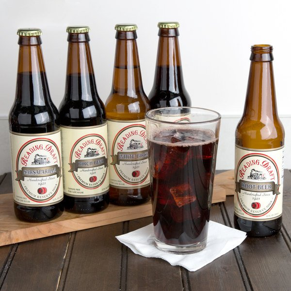Reading Soda Works 12 oz. Dutch Sampler - 12/Case
