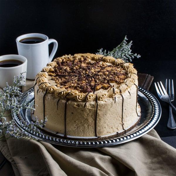 """Pellman 9"""" Peanut Butter Cup Triple Chocolate Cake - 4/Case Main Image 1"""
