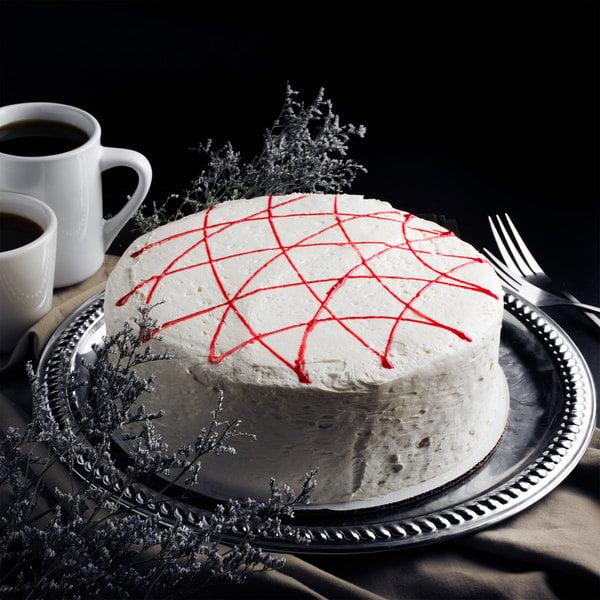"Pellman 9"" Strawberry Cake - 4/Case"