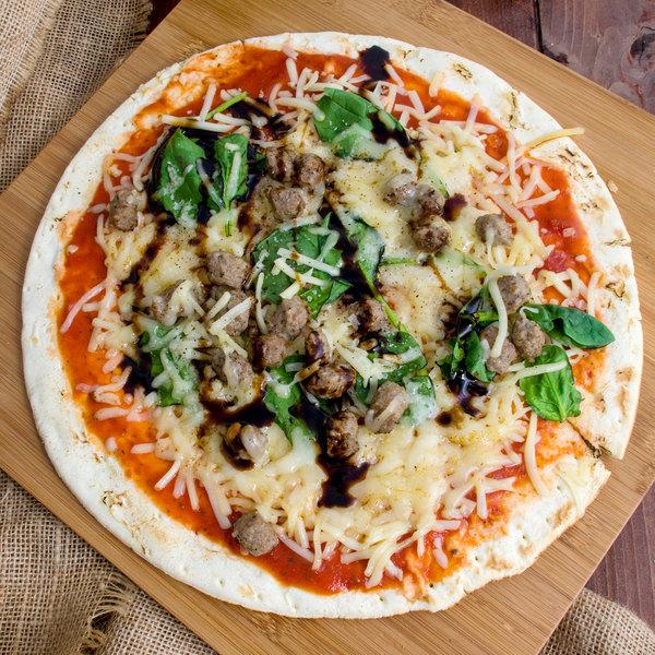 """Conte's Pasta 12"""" Prebaked Gluten Free Pizza Crust - 15/Case"""