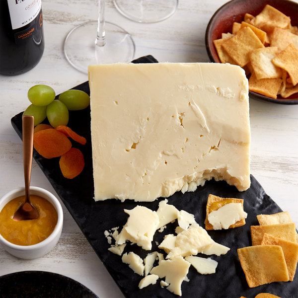 York Valley Cheese Company Druck's 38 lb. Extra Sharp White Cheddar Cheese Wheel Main Image 3