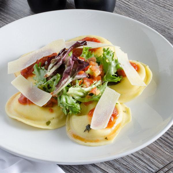 Conte's Pasta Partially Cooked Round Cheese Ravioli - 10 lb. Main Image 3