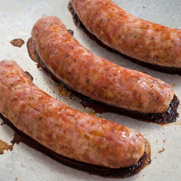 "Fontanini Moda Nostra 5"" Sweet Italian Sausage Links - 10 lb. Main Image 4"