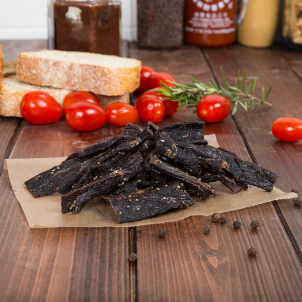 Lancaster County Farms Maple and Pepper Flavor Beef Jerky Strips - 3 oz. Main Image 3