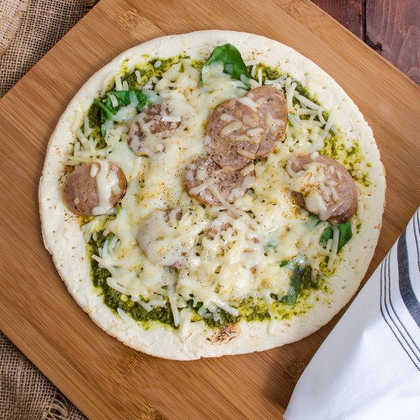 """Conte's Pasta 10"""" Prebaked Gluten Free Pizza Crust - 10/Case Main Image 3"""