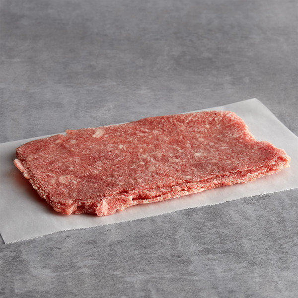 Hometown Pride 4 oz. Chunked and Formed Choice Beef Sandwich Slices - 10 lb.