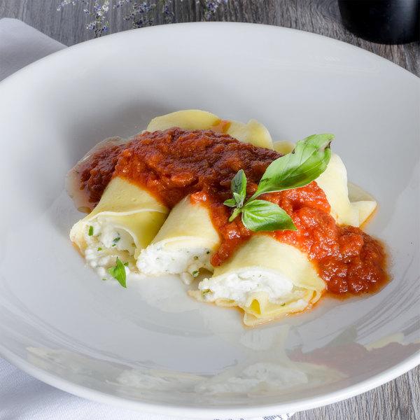 Conte's Pasta 5 lb. Cheese Manicotti - 2/Case Main Image 4