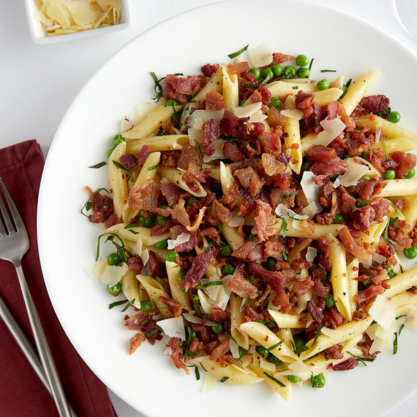 """Fontanini 10 lb. Fully Cooked Chopped 3/8"""" Bacon Pieces Main Image 2"""