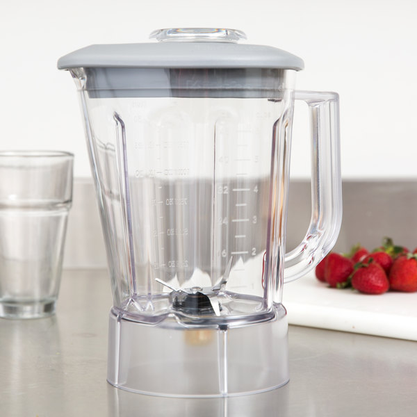 kitchenaid ksb56pob 56 oz bpa free pitcher with lid for kitchenaid