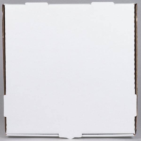 "Plain White Takeaway Boxes Packaging Boxes 50 x 18/"" Inch Pizza Boxes Pizza Box"