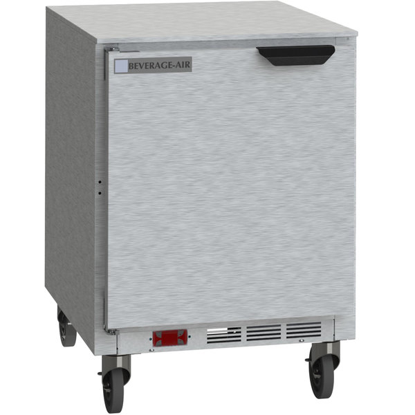 """Beverage-Air UCF24AHC-24 24"""" Undercounter Freezer with Left Hinged Door Main Image 1"""
