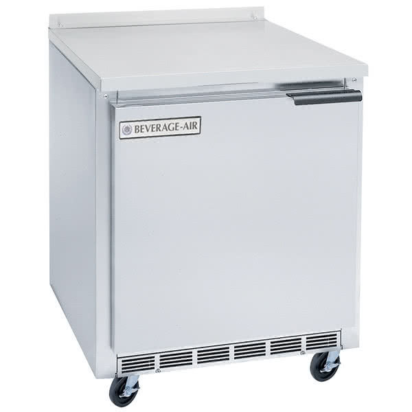 "Beverage-Air WTF27AHC-23 27"" Compact Worktop ADA Height Freezer"