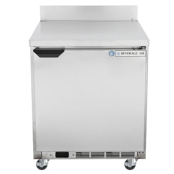 """Beverage-Air WTR27AHC-23 27"""" One Door ADA-Height Worktop Refrigerator"""