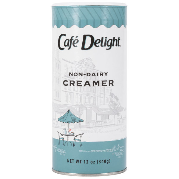 Cafe Delight 12 oz. Non-Dairy Powdered Creamer Canister