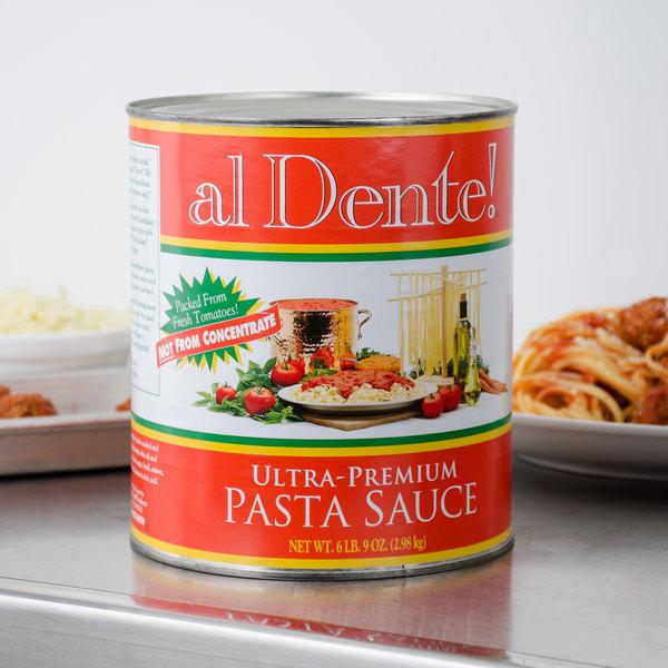 Stanislaus #10 Can Al Dente Ultra-Premium Pasta Sauce - 6/Case