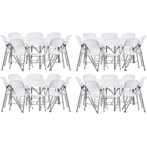 Prime Lancaster Table Seating 4 72 Round Granite White Heavy Duty Blow Molded Plastic Folding Tables With 32 White Folding Chairs Forskolin Free Trial Chair Design Images Forskolin Free Trialorg