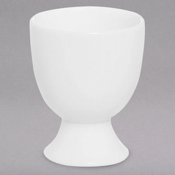 Chef & Sommelier FN039 Infinity White Bone China Egg Cup by Arc Cardinal - 24/Case Main Image 1