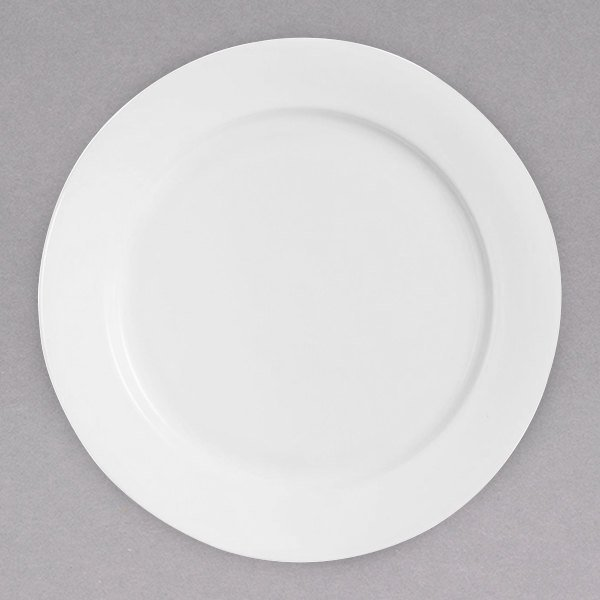 """Chef & Sommelier FN001 Infinity 11 7/8"""" White Bone China Service Plate by Arc Cardinal - 12/Case Main Image 1"""