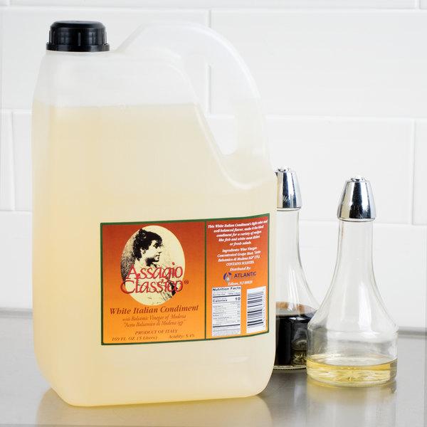 5 Liter White Balsamic Vinegar - 2/Case