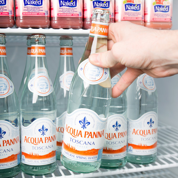 Acqua Panna 500 mL Natural Spring Water in Glass Bottle - 24/Case Main Image 7