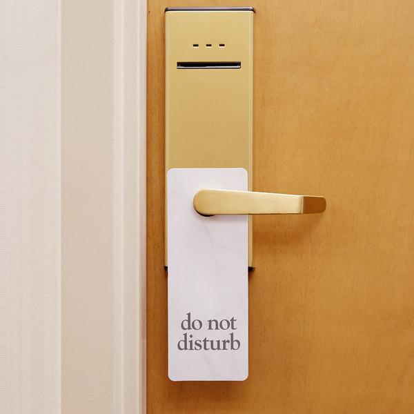 Do Not Disturb Door Sign - 100/Case