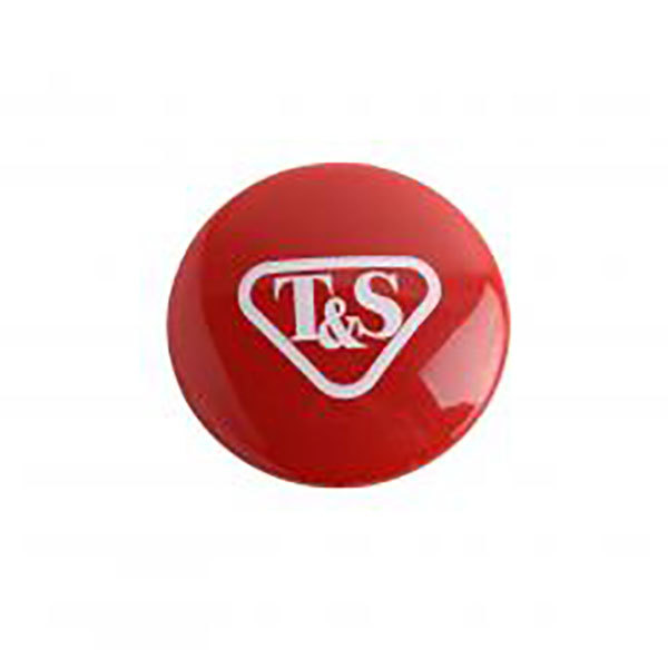 T&S 001193-19NS Red Index Button Main Image 1