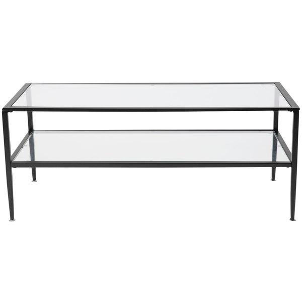 Flash Furniture Hg 160333 Gg Newport 43 1 4 X 19 2 17 Gl Coffee Table