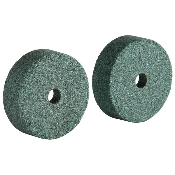 Avantco PSLA87 Coarse Sharpening Stone for SL612A, SL713MAN, and SL713A - 2/Pack Main Image 1