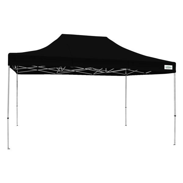 Caravan Canopy 21503205052 Classic 15u0027 x 10u0027 Black Commercial Grade Instant Canopy Deluxe Kit  sc 1 st  WebstaurantStore & Canopy 21503205052 Classic 15u0027 x 10u0027 Black Commercial Grade ...