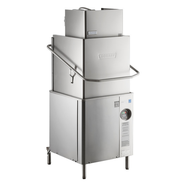 Hobart AM15VL Advansys Ventless High Temperature Dishwasher with Booster Heater - 208-240V, 3 Phase