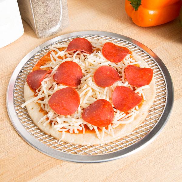 """9"""" Aluminum Pizza Screen Main Image 3"""