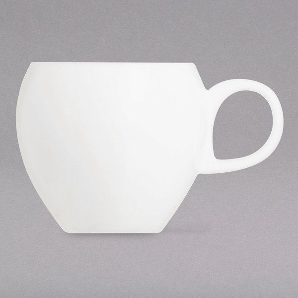 Chef & Sommelier L9603 Nectar 2.5 oz. Bone China Coffee Cup by Arc Cardinal - 24/Case Main Image 1