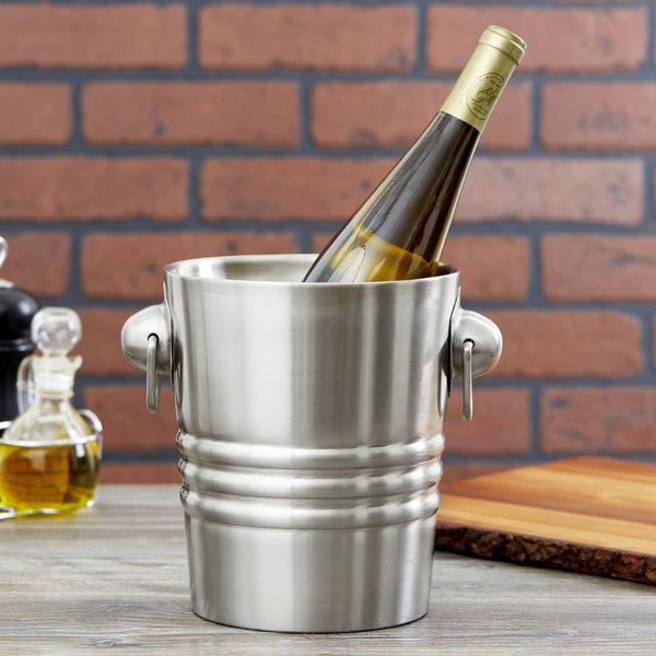 Vollrath 46616 Double Wall Champagne / Wine Bucket Main Image 5