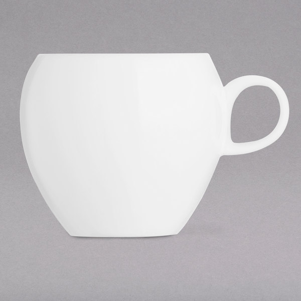 Chef & Sommelier L9605 Nectar 7.25 oz. Bone China Coffee Cup by Arc Cardinal - 24/Case Main Image 1