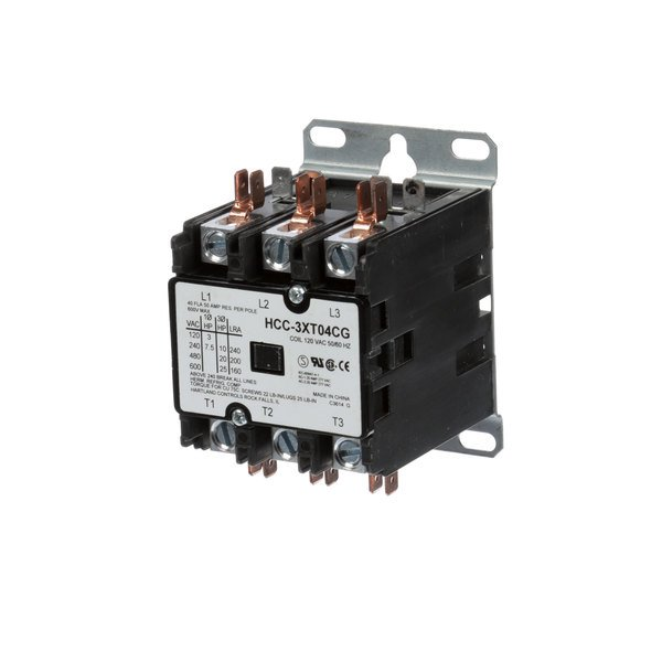 Deluxe Equipment Company 42CF35AF Contactor 40 Amp Main Image 1