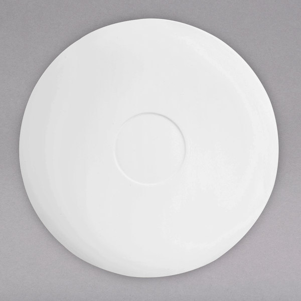 """Chef & Sommelier L9616 Nectar 4 5/8"""" Bone China Saucer by Arc Cardinal - 24/Case Main Image 1"""