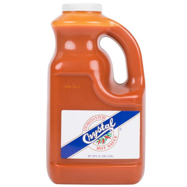 Crystal 1 Gallon Hot Sauce - 4/Case