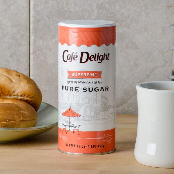 Superfine Bar Sugar 16 oz. Canister Main Image 4