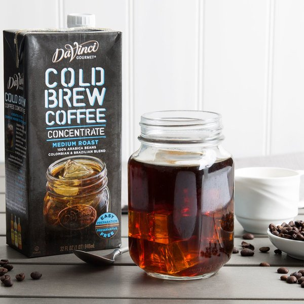 DaVinci Gourmet 32 oz. Cold Brew Iced Coffee 7:1 Concentrate