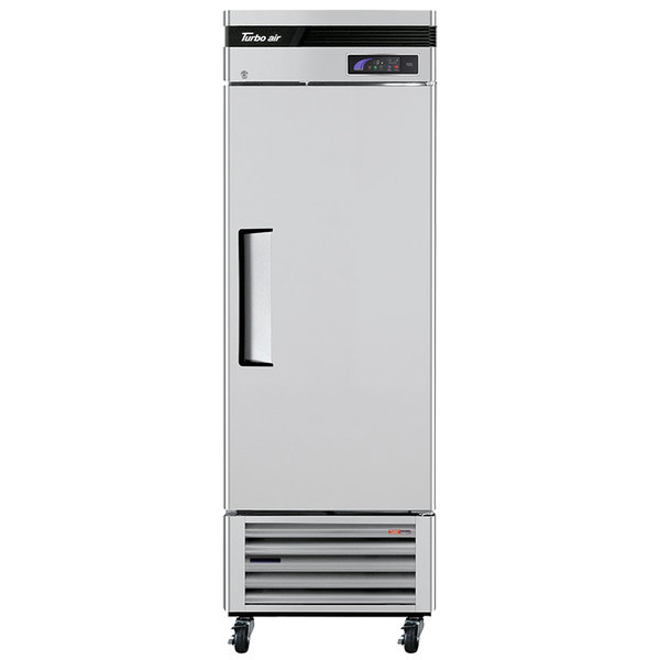 "Turbo Air TSF-23SD Super Deluxe 27"" Solid Door Reach In Freezer"