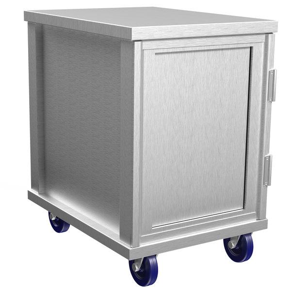 Winholt EC1816-C 16 Pan End Load Enclosed Bun / Sheet Pan Rack - Assembled