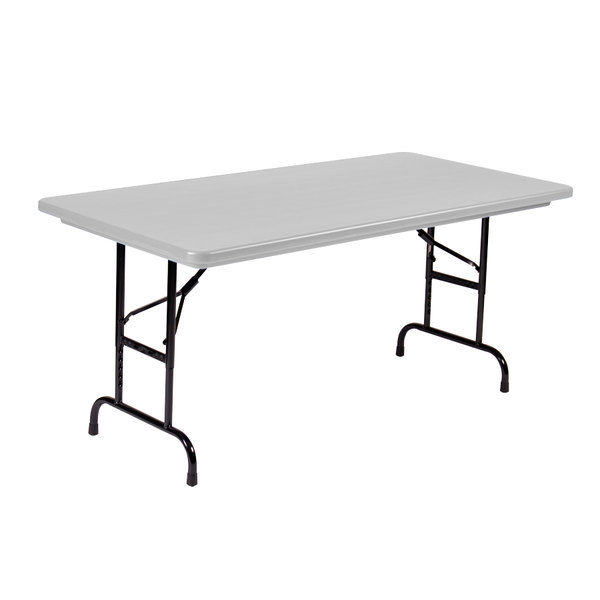 How Long Is A Standard Folding Table Brokeasshome Com