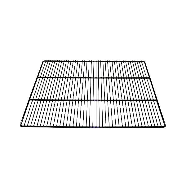 """True 909243 Black Coated Center Wire Shelf with Shelf Clips - 28 1/4"""" x 21 1/4"""""""