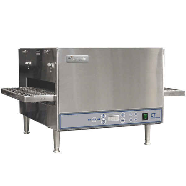 """Lincoln 2502/1353 2500 Series Countertop Impinger (DCTI) Electric Conveyor Oven with Digital Controls and Standard 31"""" Belt - 240V, 6 kW"""
