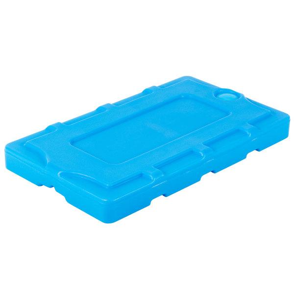 "Cambro CP814 Cold Blue Camchiller for Cambro Food Boxes, CamKiosk and CamCruiser Carts - 8"" x 14"" Main Image 1"